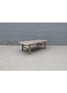 Maisons Origines Raw wood coffee table - 143X69X44cm - Walnut