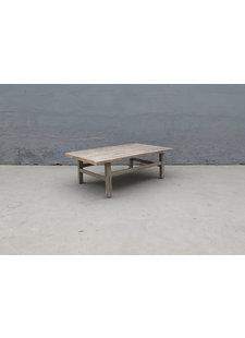 Maisons Origines Raw wood coffee table - 133X75X44cm - Walnut