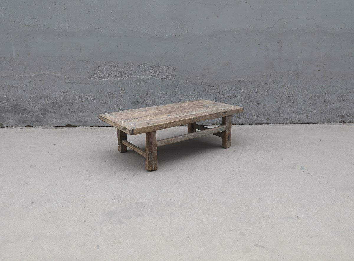 Maisons Origines Coffee table vintage Raw Wood - 103X49X32cm - unique piece
