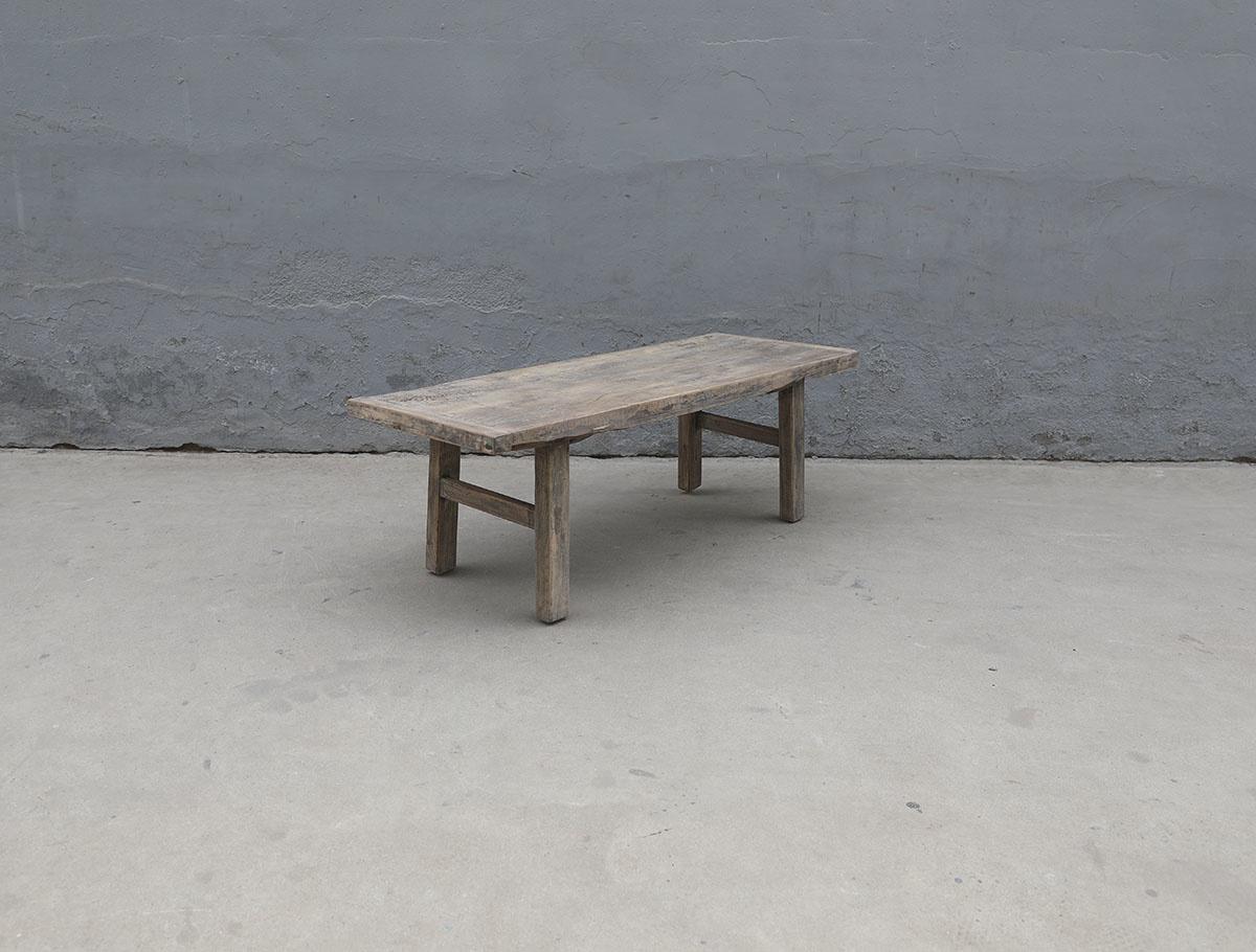 Maisons Origines Coffee table Vintage - 125x49xh44cm - Poplar wood - unique product