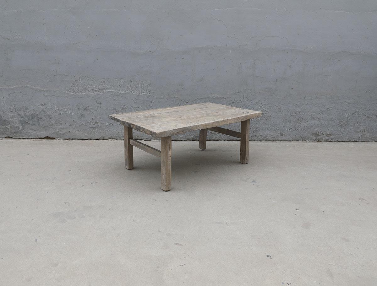 Maisons Origines Raw wood coffee table - 101X63X42cm - recycled Walnut wood