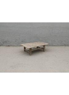 Maisons Origines Table basse bois d'orme - 90X58X29cm - pièce unique