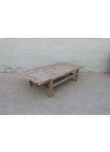 Maisons Origines Natural coffee table raw wood - 180X86X46cm