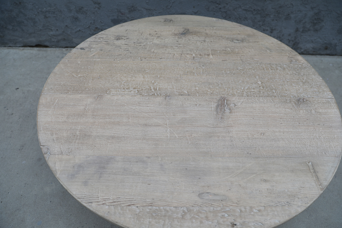 Maisons Origines Natural coffee table rond - Ø120xh46cm - Unique Item