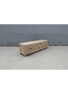 Maisons Origines Buffet / Sideboard - bois brut - L170xl44xH50cm