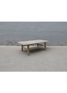 Maisons Origines Table basse bois d'orme - 134X70X43cm - pièce unique