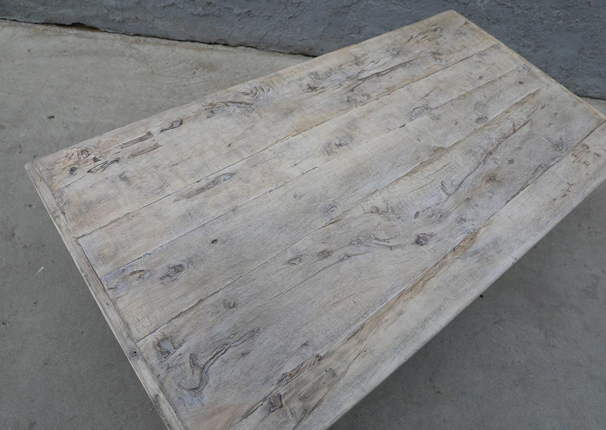 Maisons Origines Coffee table vintage Raw Wood -134X70X43cm - unique piece