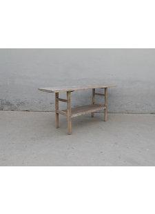 Maisons Origines Table console vintage en Bois d'orme - 173X50X81cm