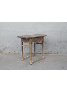 Petite Lily Interiors Console Table Vintage 2 tiroirs - 86X49XH83cm