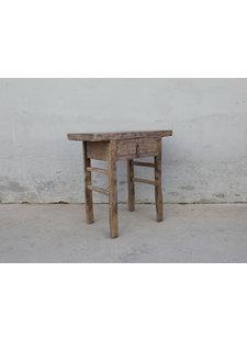 Maisons Origines Console table vintage w/ drawer - 81X45XH82cm