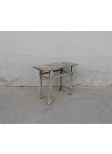 Maisons Origines Console table Vintage - 103X40X80cm - raw wood