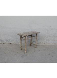 Maisons Origines Table console vintage en Bois d'orme - 103X40X80cm