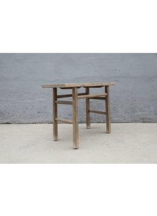 Maisons Origines Table console vintage en Bois d'orme - 108X47X81cm