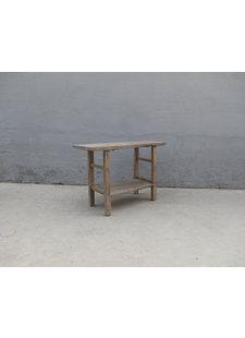 Maisons Origines Table console vintage en Bois peuplier - 124x42xh83cm