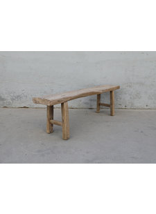 Maisons Origines Bench raw Wood / Coffee table - 158X32XH51cm - unique piece
