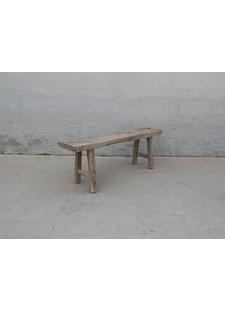 Maisons Origines Bench raw Wood / Coffee table - 137X30XH50cm - unique piece
