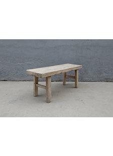 Maisons Origines Bench raw Wood / Coffee table - 116X39X50cm - unique piece