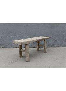 Maisons Origines Bench raw Wood / Coffee table - 109X36XH49cm - unique piece