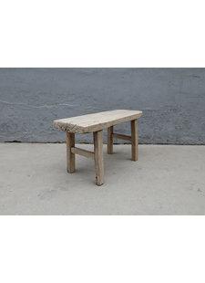 Maisons Origines Bench raw Wood / Coffee table - 91X36XH49cm - unique piece