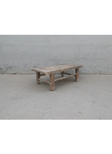 Maisons Origines Coffee table Raw Wood - 111X59X40cm - unique piece