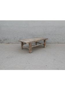 Maisons Origines Table basse bois d'orme - 111X59X40cm - pièce unique