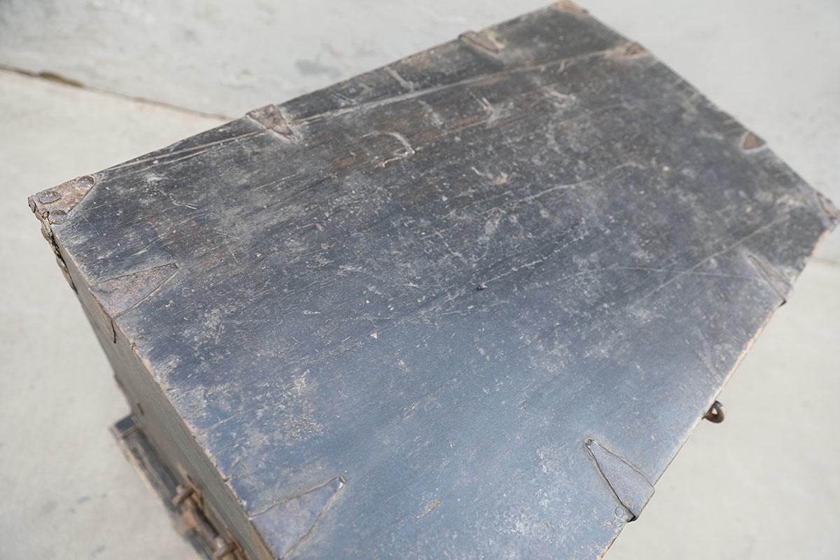 Maisons Origines Decoration Ladder Raw Wood - 62X45XH102cm - unique piece - Copy