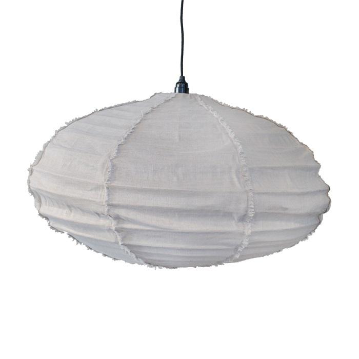 Ay Illuminate Lampe Suspension 100% Lin - blanc - Ø80cm x H40cm