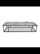 Snowdrops Copenhagen Table bois avec plateau vieille porte - 181x63x40cm