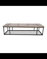 Snowdrops Copenhagen Coffee table w/ table top old door - 171x56x40cm