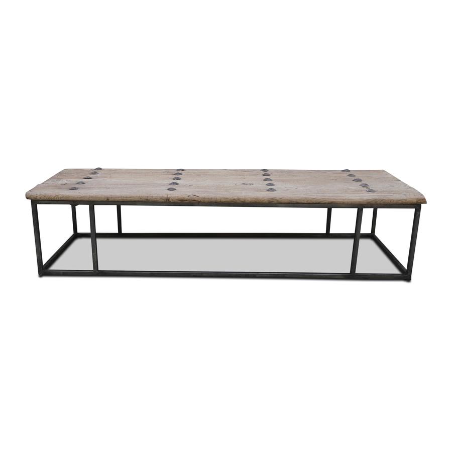 Snowdrops Copenhagen Table bois avec plateau vieille porte - 171x56x40cm