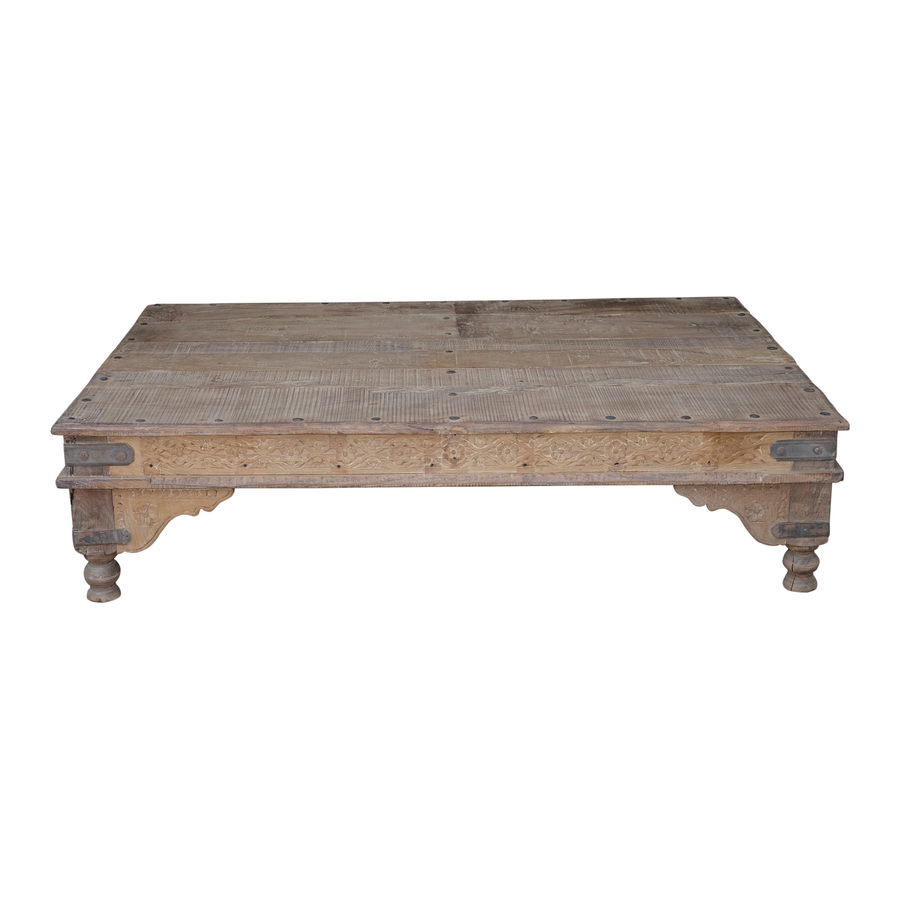 Petite Lily Interiors Wood coffee table - 180x112x40cm - unique item