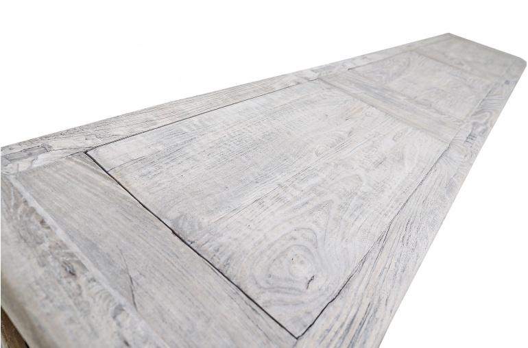 Snowdrops Copenhagen Sideboard raw elm wood - L232x45xH100 - unique item