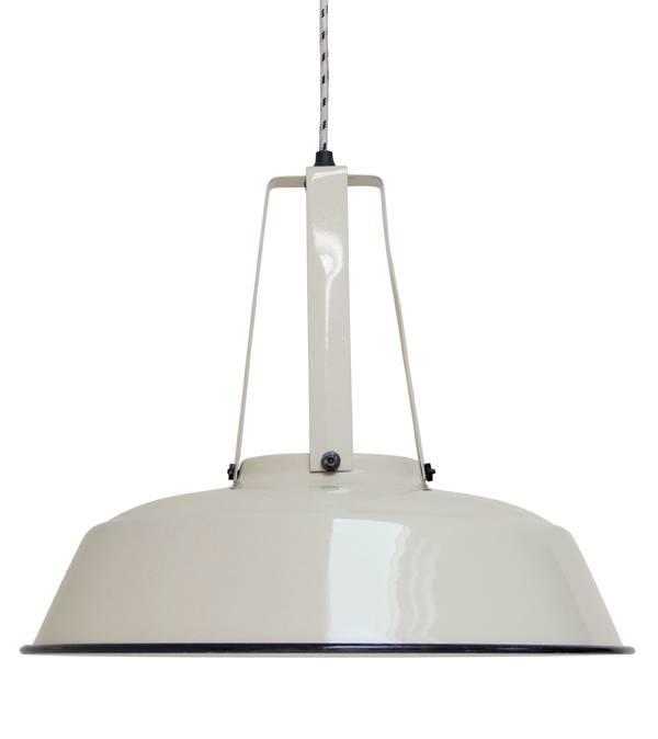 HK Living Metal Industrial hanging Lamp - Sand  - Ø45 - HK Living