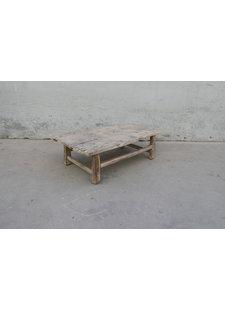 Maisons Origines Table console vintage en Bois peuplier - 108X60XH33cm