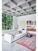 HK Living Element hocker small, boucle, cream, vint couch