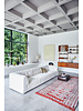 HK Living Element right, boucle, cream, vint couch