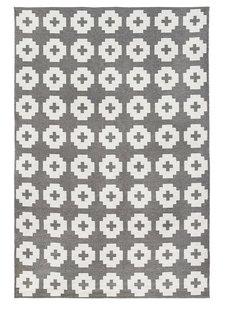 Brita Sweden Alfombra de Vinilo 'Flor' - Gris - 170x250 cm - Brita Sweden