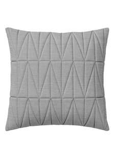 Bloomingville Cushion Quilt - gray - 45x45cm - Bloomingville
