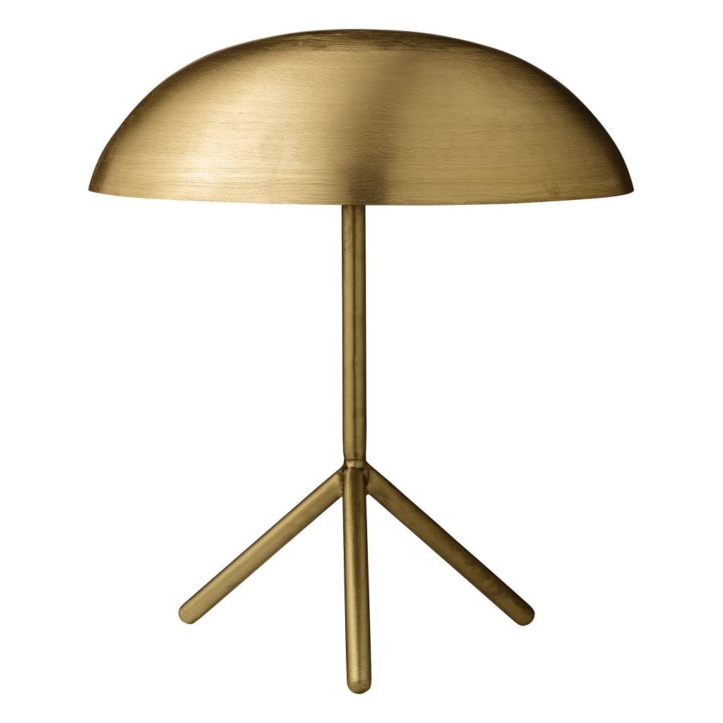 Bloomingville Desk Gold Lamp Tripod- Ø35xH40 cm - Bloomingville