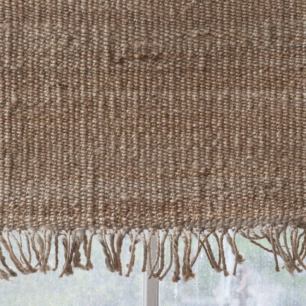 Tell me more Hemp Rug - Natural / Brown - 80x150cm - Tell Me More