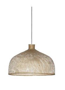 Ay Illuminate Lámpara de suspensión de bambú M1 - Natural - Ø75 cm - Ay iluminate