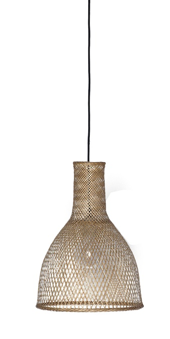 Ay Illuminate Bamboo Pendant Lamp M3 - Natural - Ø35 cm - Ay illuminate