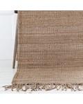 Tell me more Alfombra nordica étnica de cáñamo - beige - 170x240cm - Tell me more