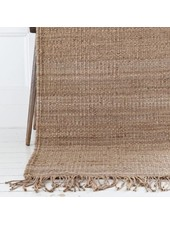 Tell me more Hemp Rug - Natural / Brown - 170x240cm - Tell Me More