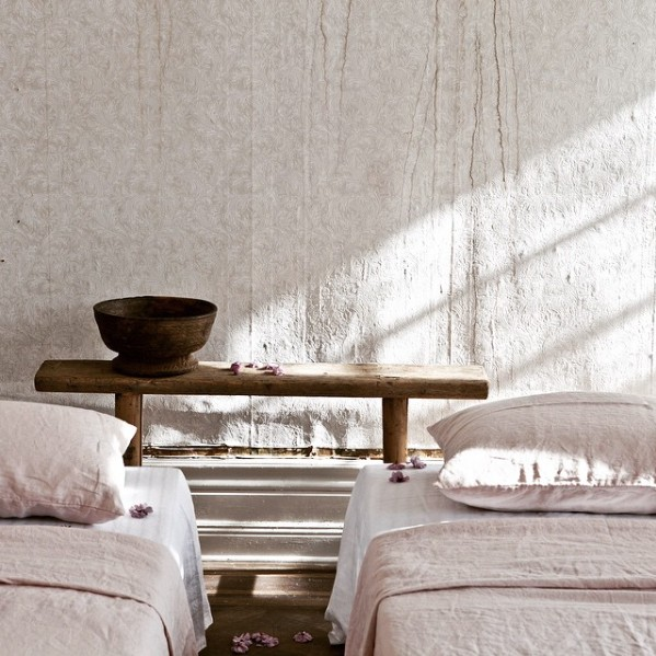 Tell me more duvet cover 100% linen washed - 140x200 - Dusty Pink - Tell me more