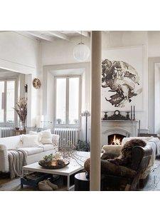 Déco Scandinave Vintage vu sur Elle Decoration