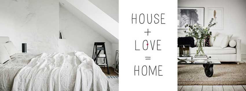 Casa  + Amor = Hogar