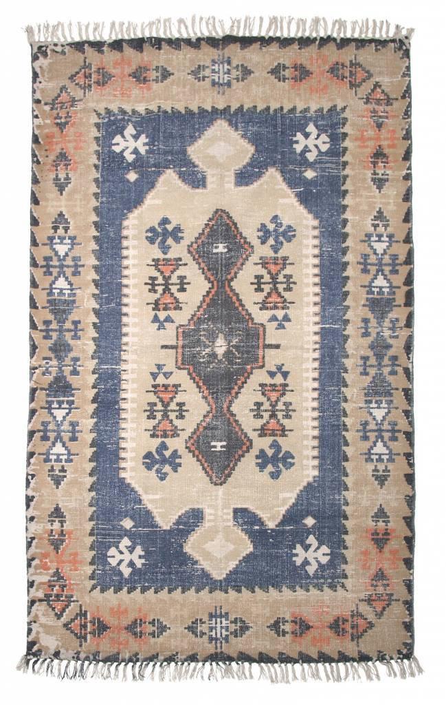 Tapis design vintage - multicolore - 120x180cm - Storebror