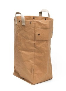 Uashmama Washable Paper Laundry Bag - Natural / Brown - Uashmama