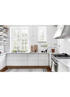 Une cuisine au style scandinave vu sur dustjacket-attic.com